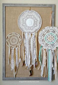 From framed doilies to lamp shades, tap into your crafty side with one of these 11 Best Doily Craft Ideas.