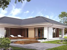 Projekt domu Ambrozja 3