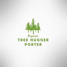 tree hugger logo on http://awesome-graphic-design.com