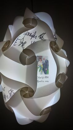 Have a wedding, baby shower or other event that you are thinking of a sign in book?  Want a totally different idea?  How about a sign in lamp with a photo? These hanging lamps are the perfect way to display your memories.  https://www.facebook.com/pages/Emmes-Crazy-Creations/1451836605036302