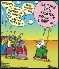 Was he in the family car when I was a kid?think so. Christian Comics, Christian Cartoons, Funny Christian Memes, Christian Humor, Religious Jokes, Jewish Humor, Catholic Memes, Funny Cartoons, Funny Comics