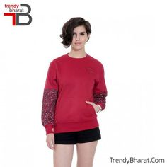 Wear this #RedSweatshirt for a new look!! #WinterCollection   #BeTrendy  #Jacket