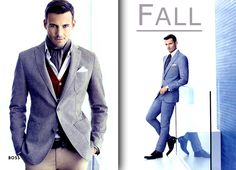 Fashion Men Fall 2013 #fall #autumn #2013 #men #fashion #dmafashion #suit #shoes #hugoboss