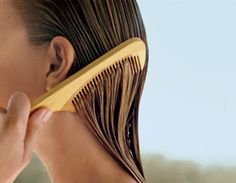 How to let your hair air dry