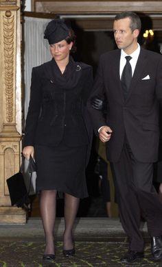 Princess Martha-Louise and Ari Behn.   3-7-2002