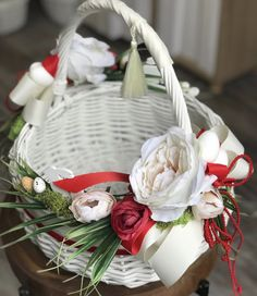 Wedding Decorations, Table Decorations, Easter Wreaths, Easter Baskets, Arts And Crafts, Art Deco, Gift Wrapping, Trays, Bouquets