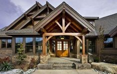 House plans for mountain homes plan northwest mountain photo gallery luxury premium collection craftsman house plans . house plans for mountain Style At Home, Porche Chalet, Estilo Craftsman, Haus Am See, Craftsman Style House Plans, Craftsman Homes, Craftsman Exterior, Modern Craftsman, Craftsman Ranch