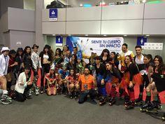 Stand Kangoo Jumps en el 2do IHRSA 2015 Mercado Fitness México #kangoojumps #saltasaludable