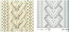 Resultado de imagen de puntos calados con dos agujas. explicaciones