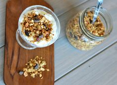 Bakekona - Lidenskap for en sunn livsstil Granola, Cereal, Oatmeal, Breakfast, Food, The Oatmeal, Morning Coffee, Rolled Oats, Essen