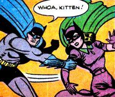 Whoa yourself bats! —Batman #39 (1947) script by Bill Finger, art by Bob Kane & Jack Burnley