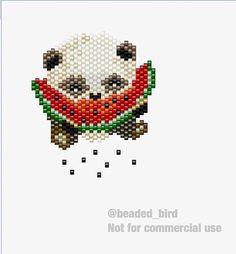 А вот и схемка вчерашней пандочки! Спасибо всем за тёплые слова🍉🐼😘 #handmade #handmadejewelry #handmadekiev #beads #bead #бисер #бисеркиев #брошьизбисера #брошь #брошькиев  #perles #perlesaddict #madeinukraine #ручнаяработа #ручнаробота  #зробленозлюбовю #сделаннослюбовью #madewithlove  #miyuki #miyukiaddict #toho #tohotreasure #miyukidelica #beadedbird #jenfiledesperlesetjassume #птичкаизбисера #pattern