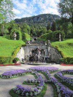 Castle Linderhof - #Germany - by @alumbricus