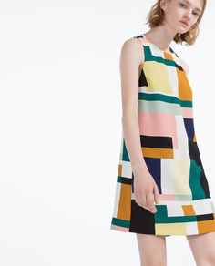 yellow dress zara 2016 rose
