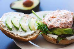 Mad på 4 sal: Sandwichboller med laksemousse og avokado
