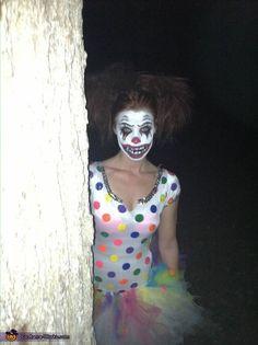 Clown Bright - 2013 Halloween Costume Contest via @costumeworks