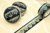Black lace masking tape
