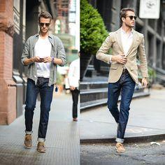 Summer Denim - Two Ways #fashion #mensfashion #menswear #mensstyle #style #outfit #ootd