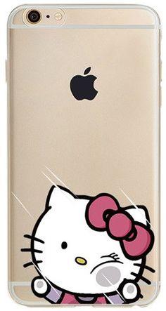Smash Face Hello Kitty iPhone 6 Case