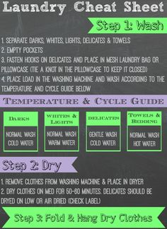 Teaching kids how to do their own laundry is a breeze with this simple to follow FREE Laundry Cheat Sheet printable! AD #ProtectClothesYouLove