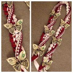 Image result for Graduation Money Lei Instructions Bow Tie