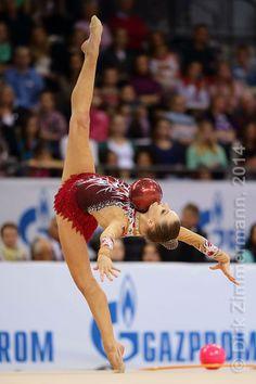 Melitina Staniouta (Belarus) /World Cup 2014 Stuttgart (GER) /photo by Dirk Zimmermann...
