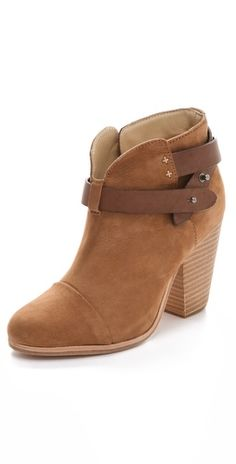 Stylmee - Rag & Bone Harrow Booties $495  #9 of our Top 10 Styles of the Week as voted by our members!  #fashiongame #fashion