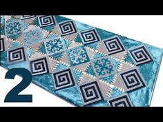 2-ші бөлім. Мастер класстан алынған бейне клиптер - құрақ көрпе - YouTube Kids Rugs, Make It Yourself, Quilts, Blanket, Youtube, Projects, Kitchens, Blankets, Quilt Sets