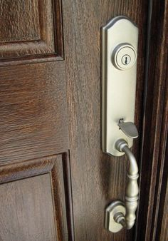 Make a steel door look like wood DIY Pinterest Steel doors