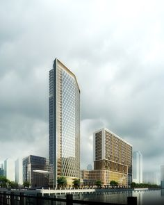 Commercial CGI Guangzhou Mixed Residential Development with Shopping Mall and Retail