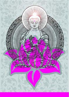 ૐ Despertar Espiritual ૐ A spiritual awakening :) Art Buddha, Buddha Kunst, Buddha Lotus, Buddha Zen, Osho, Lotus Flower Meaning, Lotus Meaning, Ganesha, Mantra