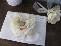 Wedding Guest Book and Guest Book Pen SET You by astylishdesign, $45.00