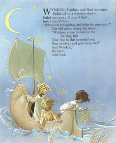 """Dean's New Gift Book of Nursery Rhymes"", Dean 1971. Illustrated by Janet and Anne Grahame Johnstone."