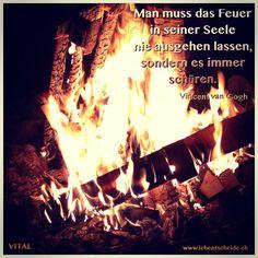 "Begeisterung, Leidenschaft, Einsatz... Was kommt dir in den Sinn, wenn du ""inneres Feuer"" hörst?"