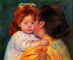 http://discpellegrina.blogspot.it/search/label/                   Cassat Mary - Bacio materno
