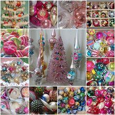 Vintage & Antique Christmas Ornaments...love love love