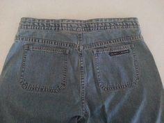 DKNY Women's Jeans Trade Mark Denim M Straight Leg Cotton Mid-Rise Ins 31 Light  #DKNY #StraightLeg #ebay #DKNY #StraightLeg