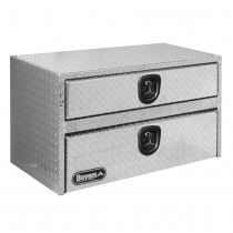 "BUYERS PRODUCTS Aluminum Toolbox with Drawer - 36-1/2 x18x20-1/2"" $493.00 each #aluminum #toolbox #manufacturing www.librami.com"