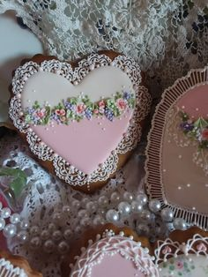 Hearts,  valentine,  gingerbread,  mother's day,  birthday, gifts for her, decorated cookies