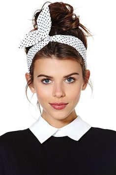 12 No-Sweat Style Ideas For A Cool Commute #refinery29  http://www.refinery29.com/hot-weather-clothes#slide3  For the morning commute, it's smart to tie your hair up with a wrap or headband to keep your locks out of your face. And, turns out, this accessory also tames frizz by blocking out humidity.