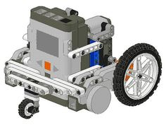 lego robotics robot designs | BattleBricks: The iPhone Lego NXT Robot