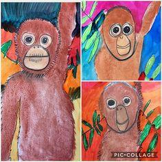 Endangered animal art