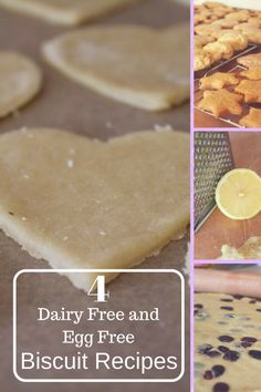 4 dairy free and egg free biscuit recipes. We have been baking along with The Great British Bake Off and this is our dairy free and egg free recipe based on a World War Two recipe and The Great British Bake Off BBC1 programme. Easy to bake with children. This simple dairy free and egg free biscuit recipe is very versatile and can be added into lemon biscuits, fruity raisin biscuits, vanilla biscuits and cinnamon biscuits. There is scope for many other biscuits flavours for this basic dairy…
