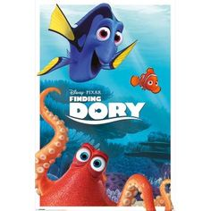 Poster: Finding Dory - characters online te koop. Bestel je poster, je 3d filmposter of soortgelijk product Maxi Poster