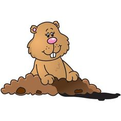 17 best groundhog images on pinterest ground hog groundhog day rh pinterest com groundhog clipart free groundhog clipart animated