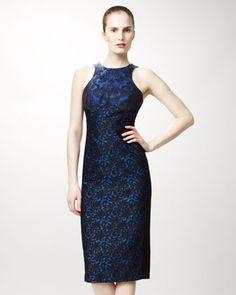 Ottavia Contoured Brocade Dress by Stella McCartney at Neiman Marcus.