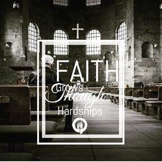 Faith and Hardships