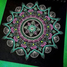 We love this mandala by @cfnatycf. Check out and follow this amazing artist!  submit your mandala to be featured on this page by using the hashtag: # mandalala  #mandala #sacredgeometry #art #mandalaart #mandalalove #mandaladesign #doodleart #doodle #zentangle #zendoodle #zenspire #zen #meditation #handmade #art #instaart #love #beautiful #pretty #inspiration #ink #namaste #pattern #love #instagood #amazing #creative #picoftheday #tattoo #patterns #arttherapy #illustration Mandala Artwork, Mandala Painting, Mandala Drawing, Dot Painting, Mandala Doodle, Zen Doodle, Doodle Art, Dibujos Zentangle Art, Zentangles