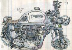 Triumph motorcycles. Especially the Bonneville.