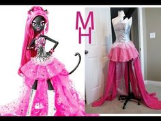 MONSTER HIGH CATTY NOIR COSTUME TUTORIAL - More Ciara's style.  This is the costume request for this year.
